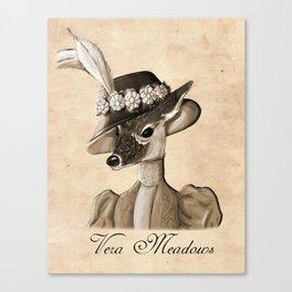 Vera Meadows Canvas Print