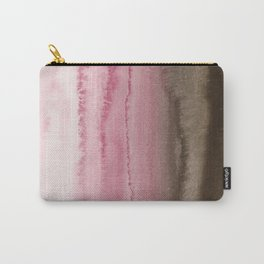 WITHIN THE TIDES STRAWBERRY CAPPUCCINO Carry-All Pouch