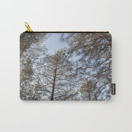 Spring sunny view of taiga forest Carry-All Pouch