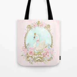 The shabby Swan Tote Bag