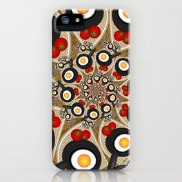 Brunch, Fractal Art Fantasy iPhone Case