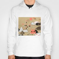geology Hoodies featuring Tobermory by Hyein Lee