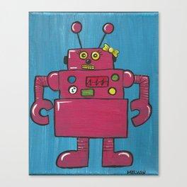 Roberta the Robot Canvas Print
