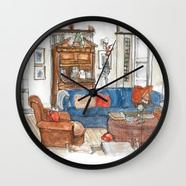 Will and Grace - Will Truman's Apartment Wall Clock