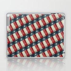 Vintage Texas flag pattern Laptop & iPad Skin