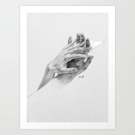 Free Bonds Art Print