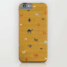 Jarmo in Yellow iPhone Case