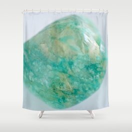 Amazonite - The Peace Collection Shower Curtain