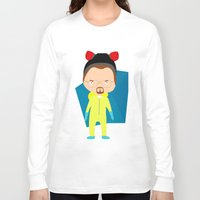 walter white Long Sleeve T-shirts featuring Walter White by Creo tu mundo