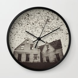 Home of Murmuration Wall Clock
