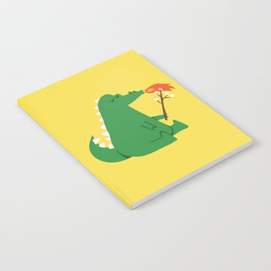 Dragon and Marshmallow Notebook
