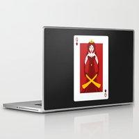 berserk Laptop & iPad Skins featuring Queen of Diamonds - Berseker queen by Thirdway Industries Shop