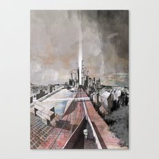 Paris d'avenir 2 Canvas Print