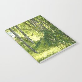 Beautiful Morning Summer Greenery #decor #society6 #buyart Notebook