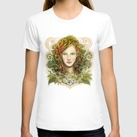 elf T-shirts featuring Elf Nouveau by hkxdesign
