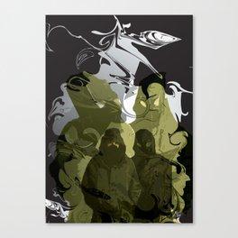 Prejudice Canvas Print