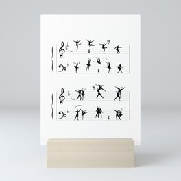 Symphony of Movements Mini Art Print