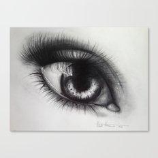 Eye Sketch 1  Canvas Print
