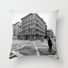 New York Soho Throw Pillow