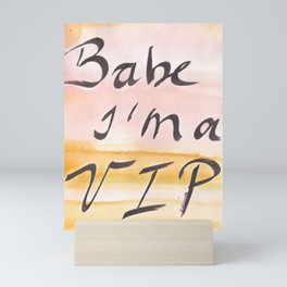 7     Slay Words  190827   Mini Art Print