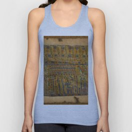 Ancient Egyptian Funerary Scroll pre 944 BC Unisex Tank Top