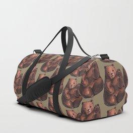 Bear pattern Duffle Bag