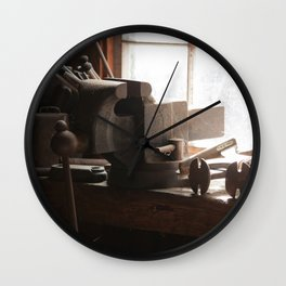 Tool Shed Wall Clock
