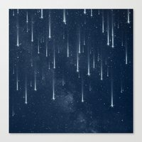 stars Canvas Prints featuring Wishing Stars by Paula Belle Flores