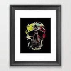 SKULL WASHINGTON Framed Art Print
