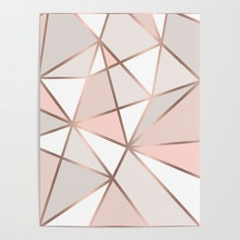 Rose Gold Perseverance Poster