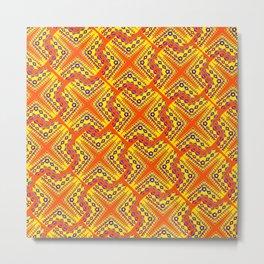 orangeex Metal Print