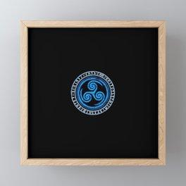 Ninja Theory Framed Mini Art Print