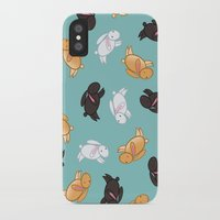 bunnies iPhone & iPod Cases featuring Bunnies! by Kashidoodles Creations