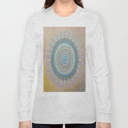 Mursy Hill Wish Board Mandala Long Sleeve T-shirt