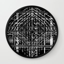 Design in Black and White Wall Clock