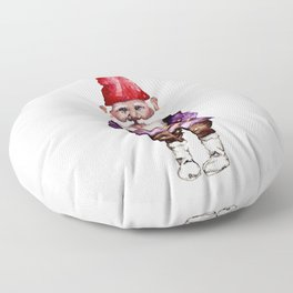 Alfred the Gnome Floor Pillow