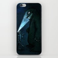 monster iPhone & iPod Skins featuring Monster by MaComiX