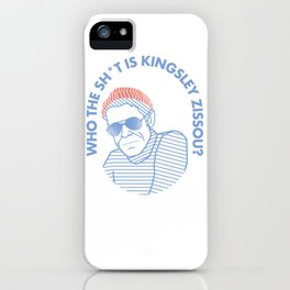 TEAM ZISSOU Klaus Daimler iPhone Case