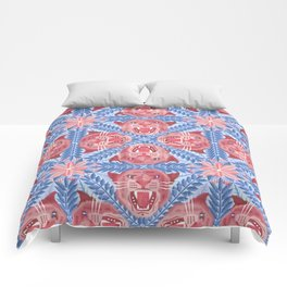 Pink Panther Pattern Comforters