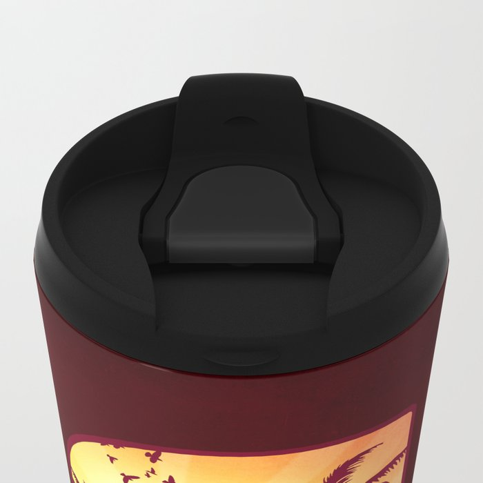 S for Summer Metal Travel Mug