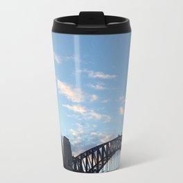 Sydney Australia harbour bridge Travel Mug