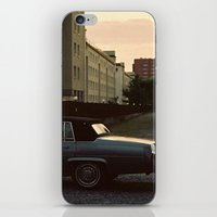 car iPhone & iPod Skins featuring car by Martyna Syrek