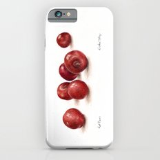 Red Plums Slim Case iPhone 6s