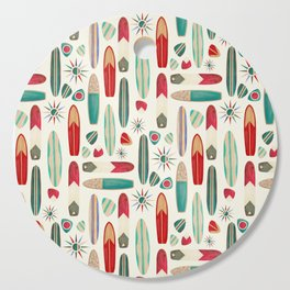 Surf's Up in the 1950's Cutting Board