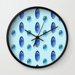 Oval Cabochons Pattern II Wall Clock