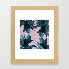 Tropical Palm Print #2 Framed Art Print