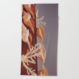 Souvenir Seashells Beach Towel