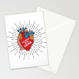 Tu Lucha Es Mi Lucha (Closed Fist) Stationery Cards