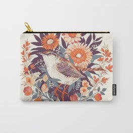 Wren Day Carry-All Pouch