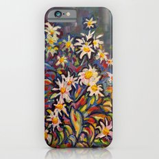 Mom's White Daisies iPhone 6s Slim Case